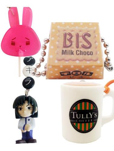 set de straps de tully's bis & others anime japones y1255 2