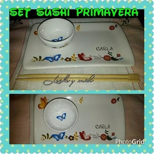 set de sushi primavera