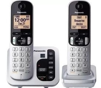 set de teléfonos inalámbricos panasonic