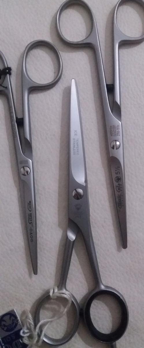 Tijeras alemanas para corte de cabello