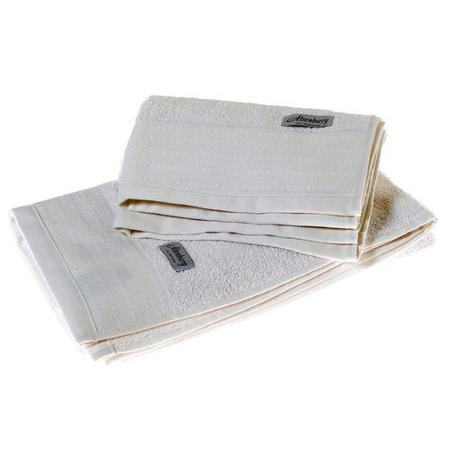 set de toalla y toallon altenburg blanco