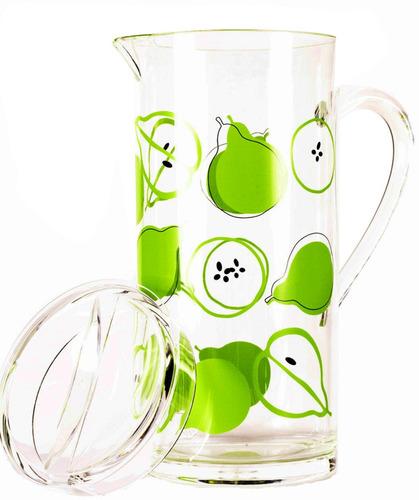 set de una jarra, una ensaladera y palas p/ ensalada peras