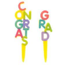 set de velas congrats grad (felicidades graduado)