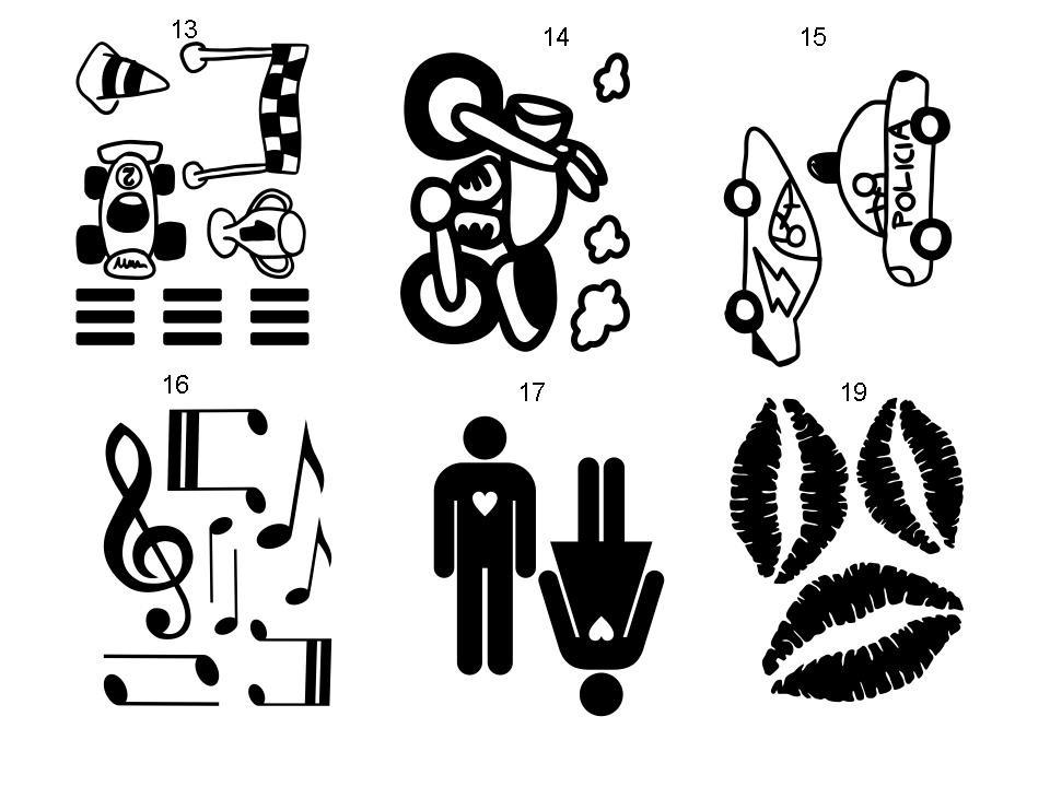Set de vinilos decorativos para decorar paredes muebles - Cenefas para dibujar ...