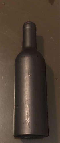 set de vino 2 piezas en forma de botella