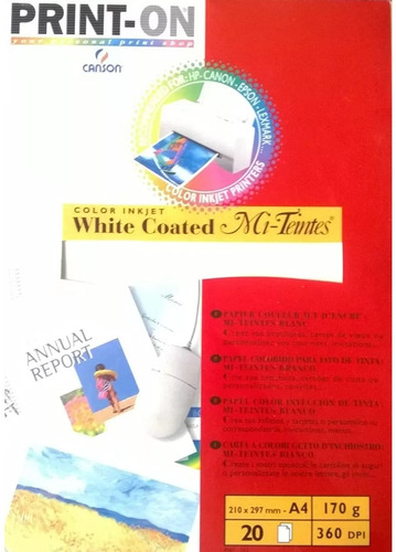 set de white coated mi teintes marcas canson