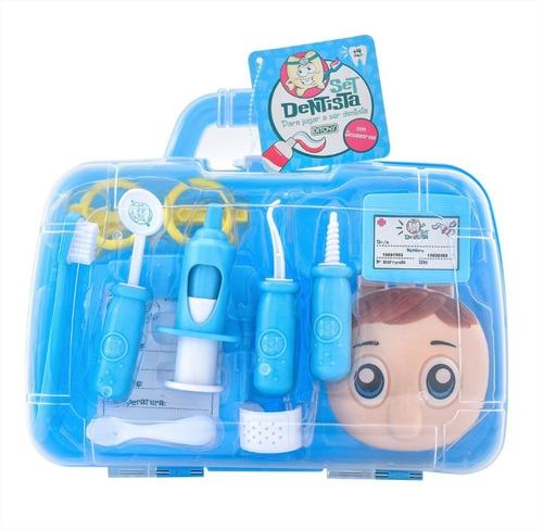 set dentista ditoys con valija instrumentos niños cuotas