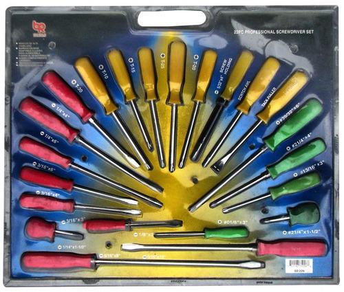 set destornilladores 22 piezas br tools