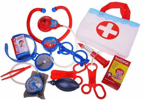 set doctor juguete 10 piezas estuche de lujo