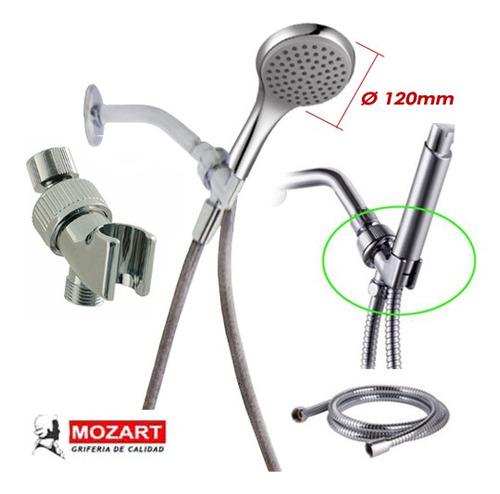 set duchador lujo con brazo desmontable  de 1,70 cm oferta