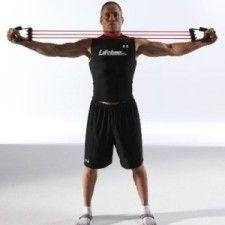 set ejercicios tensores cuerda hand grip para  musculos, gym