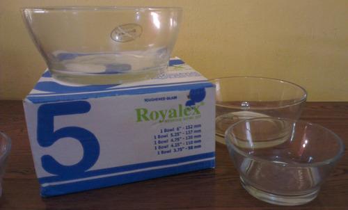 set envases ensaladera salseras moldes de cocina royalex