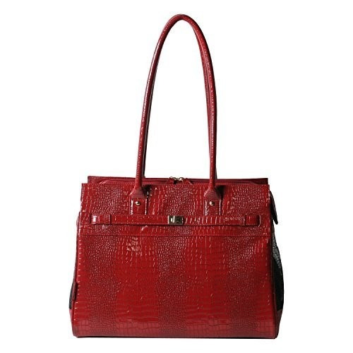 set equipaje corteza-n-bag exótico patente línea croco pet