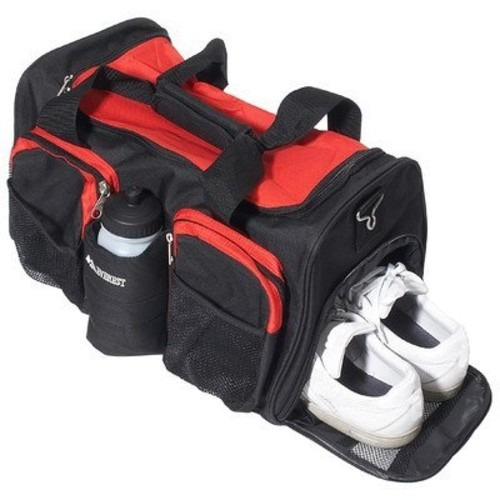 set equipaje everest bolsa de deporte con pocket wet rojo,