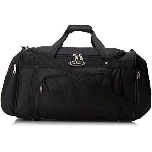 set equipaje everest deluxe deportes duffel bag negro, un t
