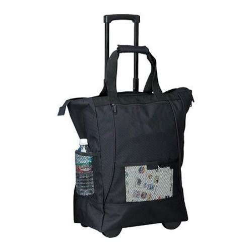 set equipaje goodhope bags on the go rolling tote [black]