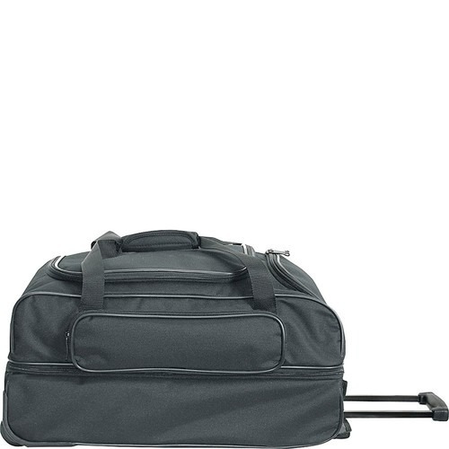 set equipaje netpack 22  travel light wheeled duffel [navy]