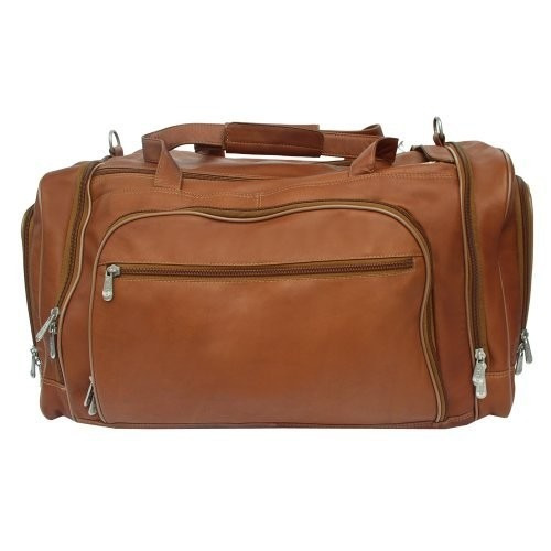 set equipaje piel de cuero multi-compartimiento duffel bag
