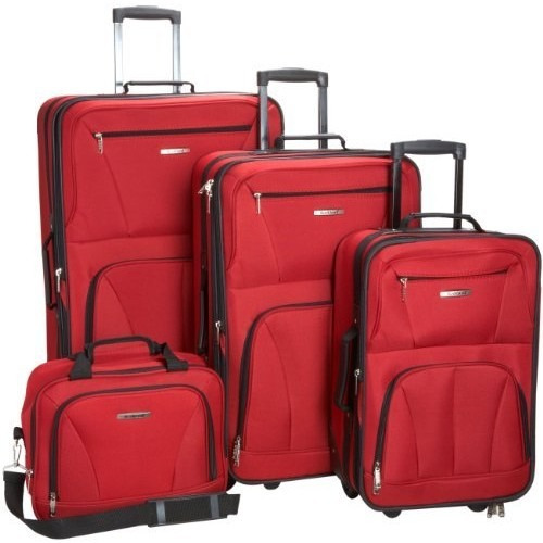 set equipaje rockland luggage skate wheels 4 piece luggage