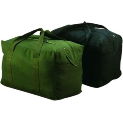 set equipaje texsport lienzo paracaídas bolsa negro
