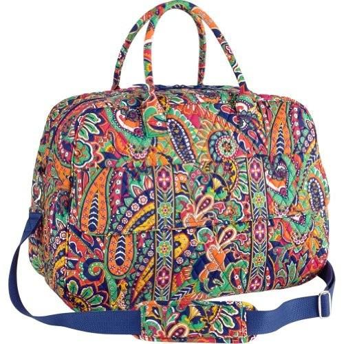 set equipaje vera bradley gran viajero weekender bag classi