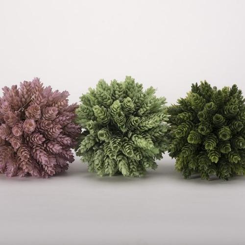 set esferas colores - verde, lila këssa muebles