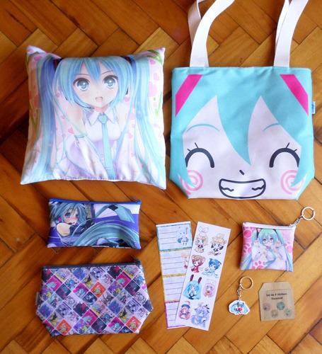 set especial para regalo anime vocaloid miku hatsune oferta