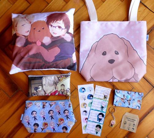 set especial para regalo anime yuri on ice oferta yaoi