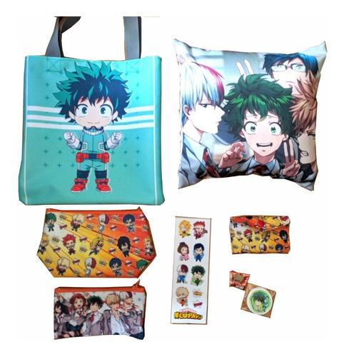 set especial para regalo de anime my hero academia