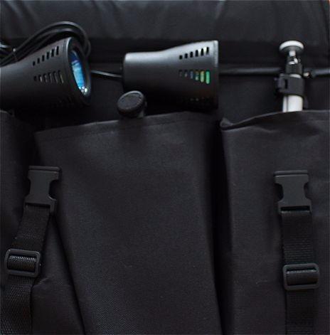 set estudio fotografico portatil camara focos tripode ev9177
