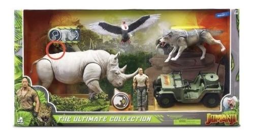 set figuras jumanji ultimate collection con sonidos