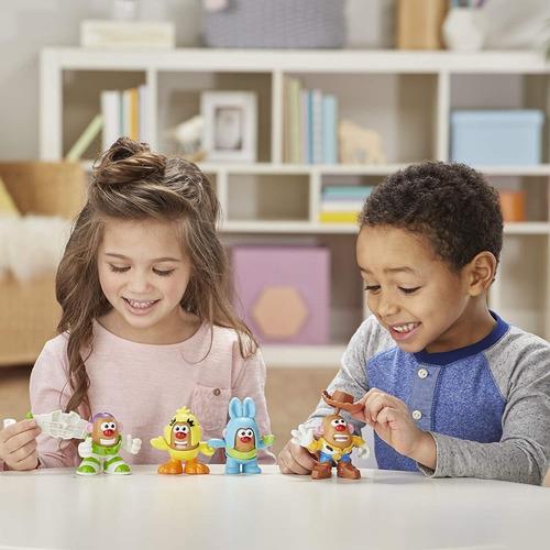 set figuras mr potato head disney pixar toy story 4 mini