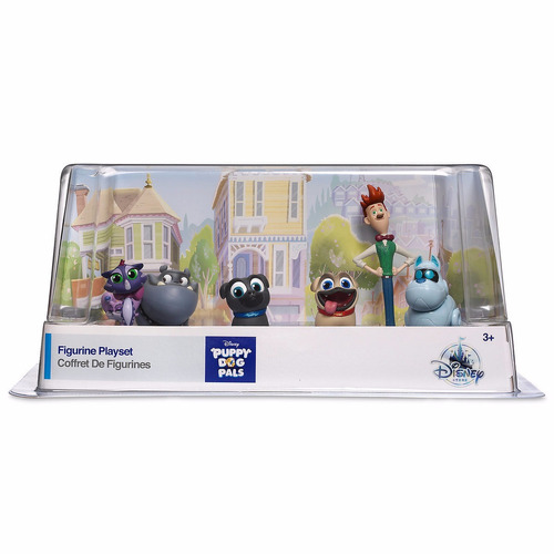 set figuras puppy dog pals