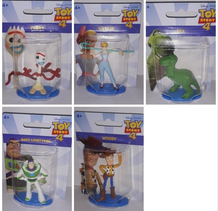 Set Figuras Juguete Story 4 Forky Woody Buzz Rex Betty 7cm