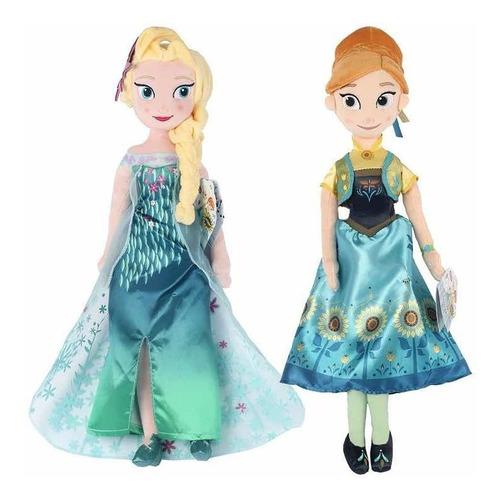 set frozen fever muñecas 40 cm elsa y anna