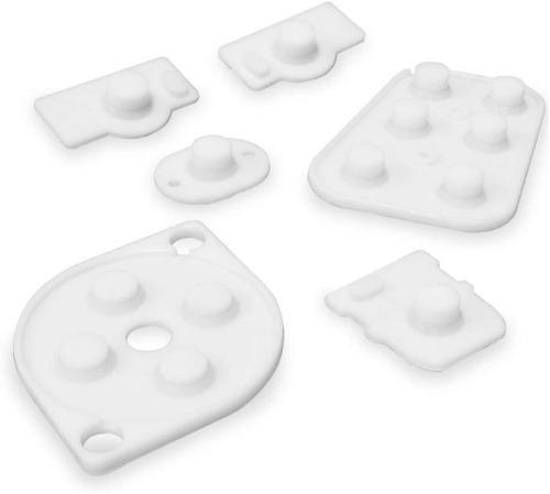 set gomas conductora membrana siliconas n64 nintendo 64