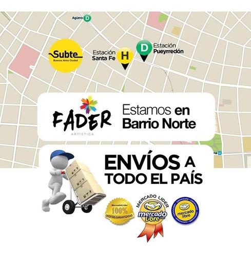 set gouache x 18 art creation talens temperas barrio norte