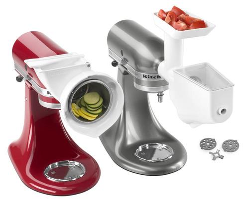 set gourmet de 3 accesorios para batidora kitchenaid