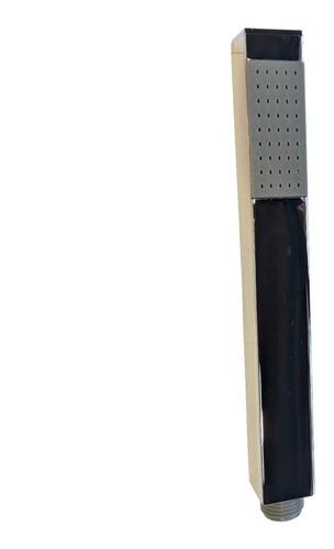 set grifería monocomando + ducha 30x30 + duchador