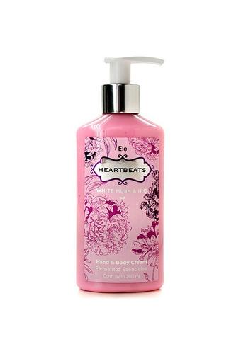 set heartbeats perfume + crema + gel bath & shower