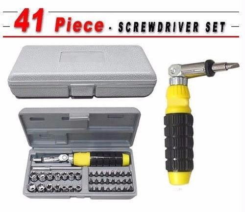 set herramientas 41piezas dados llaves autos mecanica rachet