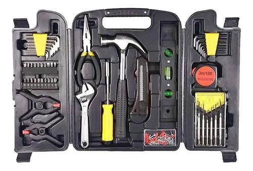 set herramientas completo piezas juego kit caja nuevo hogar