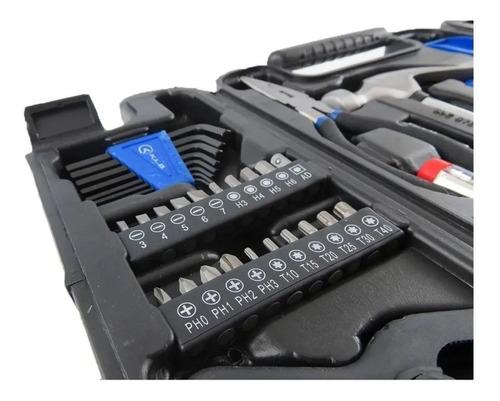 set herramientas en maletin juego kit 130 piezas kld1840
