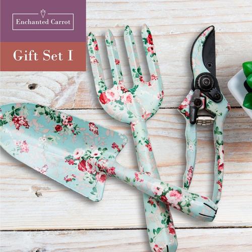 set herramientas jardinería pala flora enchanted carrot