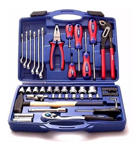 set herramientas llaves tubos combinadas 55 pzs bremen 6628