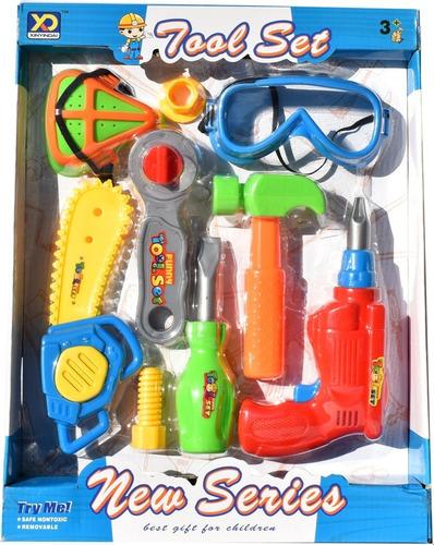 set herramientas para niños tool lentes juguete
