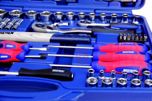 set herramientas tubos llaves comb 100pz bremen enc 1/2-1/4