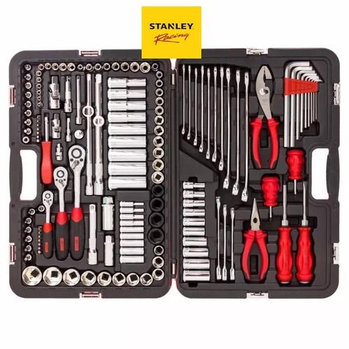 set herramientas tubos stanley racing 150 piezas r99-150la