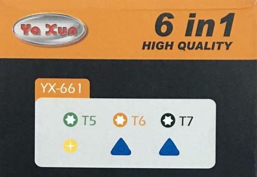 set herramientas yaxun yx662 ld-1993