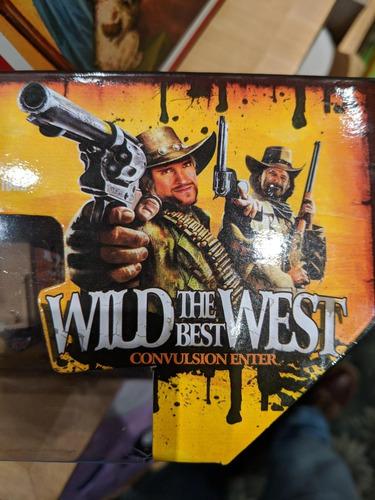 set indios y cowboys vaqueros con carreta lejano oeste